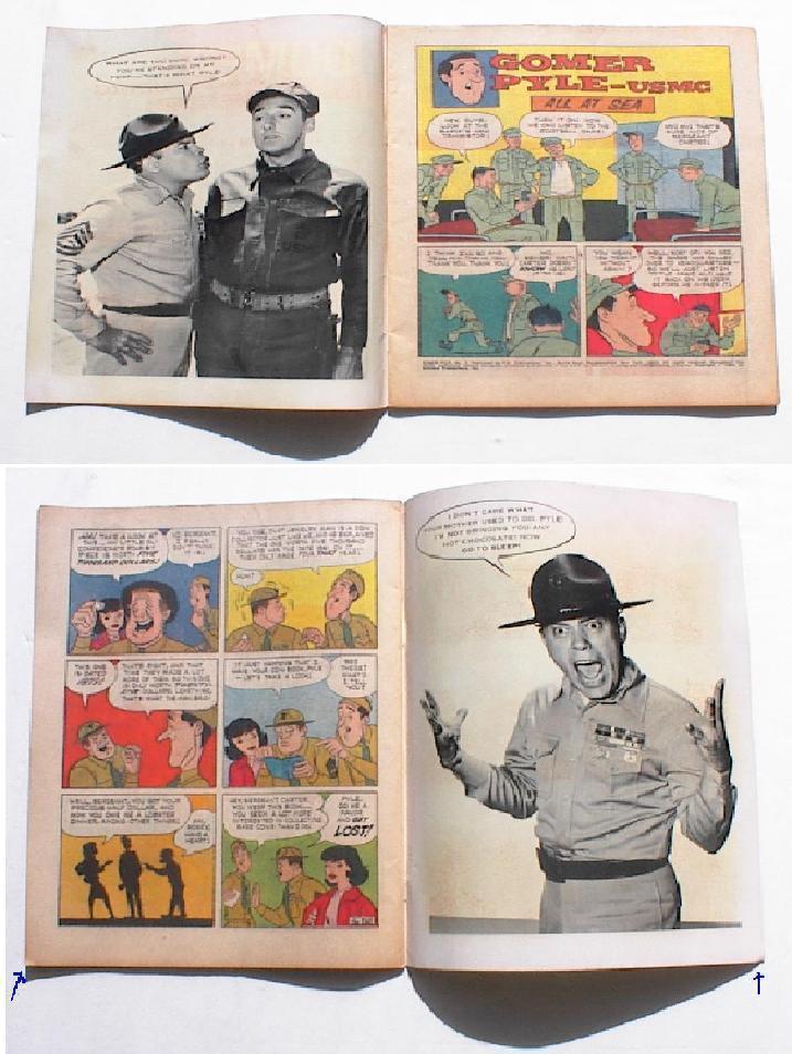 Gomer Pyle USMC Number 2 Comic Book TV Photo Cover 1966