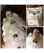 Reborn Vampiric Doll Satrina Vampire Reborn By Hope Marie 4-1-07 Goth 20... - $123.75