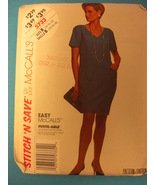 Easy McCALLS Stitch and Save  Petite-Able 5733 Pattern - $4.95