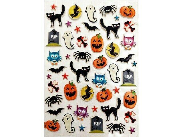 Halloween Puffy Sticker Set