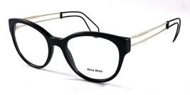New Miu Miu Cateye Vmu 03P 1AB-1O1 Frame Eyeglasses 54-19-145 - $115.14