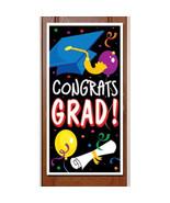 Graduation Party Decorative Congrats Grad Door Cover indoor & outdoor 30... - $7.91