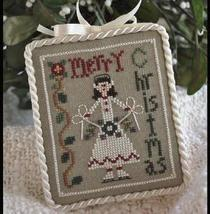 The Merry Skater Ornament 2010 Series #7 cross stitch Little House Needl... - $5.40