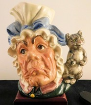 """Royal Doulton Character Jug - """"Cook and The Cheshire Cat""""  D6842 - $189.99"""