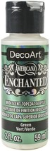 Americana Enchanted Paint 2oz-Green - $10.87