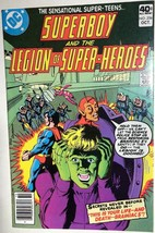 SUPERBOY AND THE LEGION OF SUPER-HEROES #256  DC Comics FINE- - $9.89