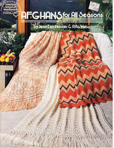 AMERICAN SCHOOL OF NEEDLEWORK AFGHANS FOR ALL SEASONS - $5.95