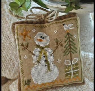 Frosty Flakes Ornament 2010 Series #8 cross stitch chart Little House Needlework