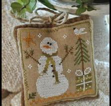 Frosty Flakes Ornament 2010 Series #8 cross stitch chart Little House Ne... - $5.40