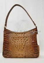 NWT Brahmin Noelle Leather Tote / Shoulder Bag in Toasted Almond Melbourne image 2