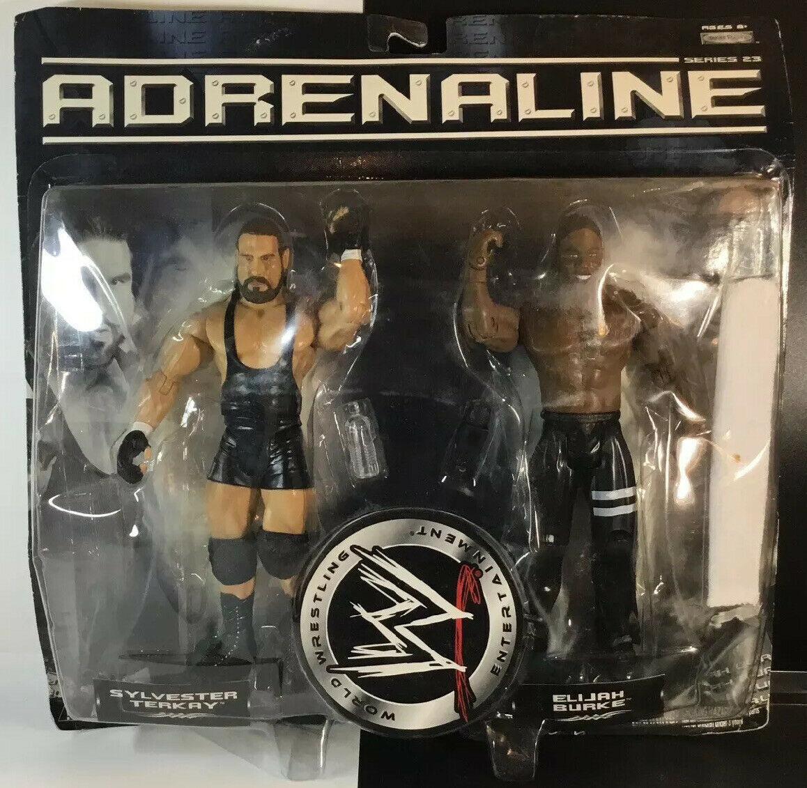 Primary image for 2007 Jakks Pacific WWE Adrenaline Sylvester Terkay and Elijah Burke #3 Series 23