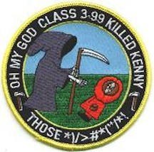 "4"" NAVY VF-101 F-14 CLASS 03-99 GRIM REAPERS EMBROIDERED JACKET PATCH - $18.99"