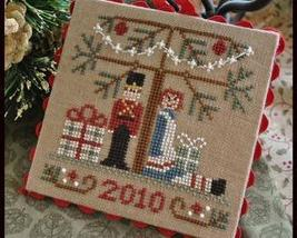 Under The Tree Ornament 2010 Series #10 cross stitch Little House Needle... - $5.40