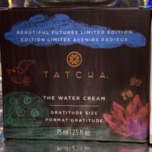 NEW IN BOX sealed Tatcha The Water Cream JUMBO GRATITUDE SIZE 75mL (2.5oz!) image 2