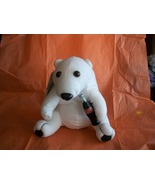 1993 Coca Cola Polar Bear Plushie with tags - $5.00