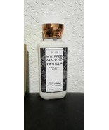 BATH AND BODY WORKS BODY LOTION WHIPPED ALMOND VANILLA  8 FL OZ   - £11.62 GBP