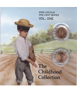 2009- P,D Lincoln Childhood Collection Vol#1 - $3.75