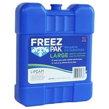 Freez Pak Large Reusable Ice Pack for totes and cooler bags USA product - $12.99