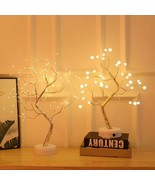 Night Light Bonsai Style Party Cherry Tree Shape Firework Christmas Plants - $29.70+