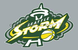 Seattle Storm WNBA 3'x5' gray Flag Sue Bird Breanna Stewart USA seller s... - $25.00