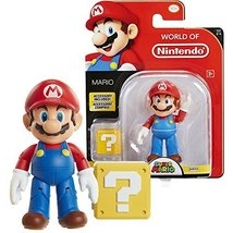 Jakks Pacific Year 2017 Super Mario Series 4 Inch Tall Figure - MARIO with Quest - $37.99