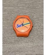 Unisex Surf Detergent Orange Logo Plastic Quartz Movement Watch Working ... - $15.00
