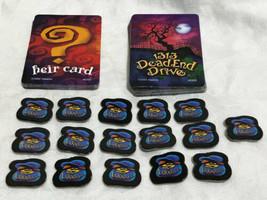 Game Parts Pieces 1313 Dead End Drive Parker Brothers 2002 Cards Money Bag Token - $7.82