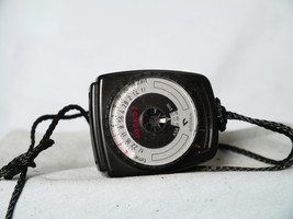 Gossen Sixtino Quality Small Vintage Camera Light Meter - Nice Set- Work... - $15.00