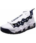 Nike Mens Air More Money Athletic & Sneakers Bluewhite - $159.99