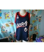 Vintage 90's USA Olympics Dream Team Penny Hardaway NBA Champion Jersey 44 - $59.39