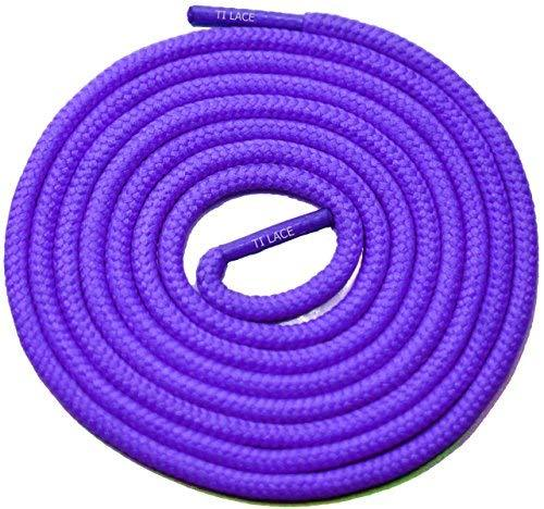"Primary image for 54"" Purple 3/16 Round Thick Shoelace For All Baseball Shoes"
