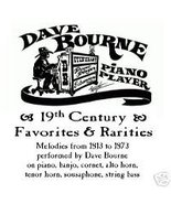 19th Century Favorites & Rarities by Dave Bourne - $17.00