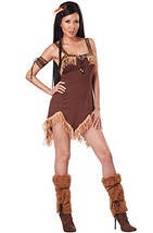 California Costumes Women's Sexy Indian Princess Adult, Brown, X-Small - $41.11