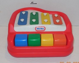 Little Tikes Tap a Tune Piano Xylophone Instrument Non Electric Toddler Toy - $14.03