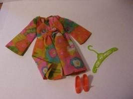 Vintage 1970 Mattel Barbie Flower Wower Dress #1453 - $19.80