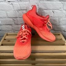 Womens Size 8.5m Adidas Alpha Bounce Orange  Athletic Shoes HWA 1y3001  - $34.99