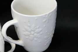 """Snowflakes by Thomson Mugs Large 4"""" Lot of 6 image 6"""