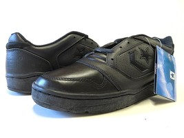 NOS Converse CONS Official OX Leather Black Basketball Shoes Men's Size 10 - $108.85