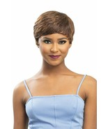 Sensual Vella Vella 100% Human Hair Bang Short Full Wig - KENDALL - $22.95