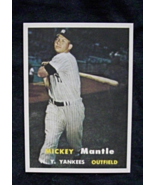 1957 Topps Baseball #95 Mickey Mantle [New York Yankees] RP - $65,20 MXN