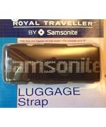 "Black Samsonite Royal Traveller NIP Luggage Strap fits suitcasesup to 72"" - $7.92"