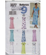 3377 Butterick Misses Dress 9 EASY Patterns Size 8 to 12 New - $3.99