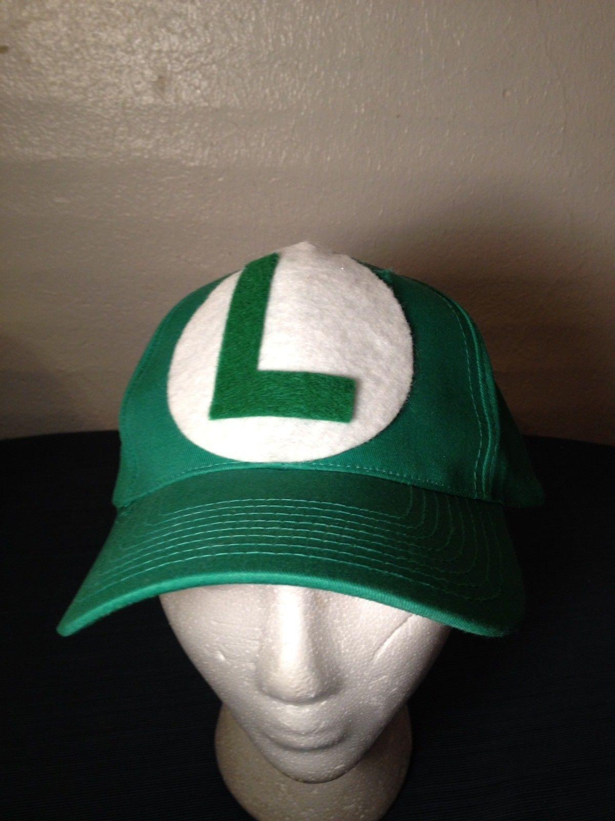 40d64f6ed Cobra Brand Hat Green L Luigi Super Mario and 18 similar items. S l1600