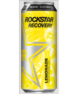 Rockstar Recovery Energy + Hydration Non Carbonated Energy Drinks (Lemon... - $24.74