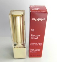 CLARINS Rouge Eclat 09 Juicy Clementine Age Defying Lipstick NIB - $22.66