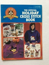 The Official Looney Tunes Holiday Counted Cross Stitch Bokk Leisure Arts - $5.93