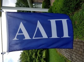 Alpha Delta Pi Blue And White Sorority Flag 2 X 3 Foot Fraternity - $17.82