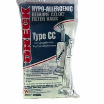 8 PK Oreck XL Type CC Vacuum Cleaner Bags for Upright W/ Docking Systems... - $14.84