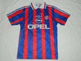 Bayern Munich 1995 / 97 Vintage Opel Adidas Babbel Shirt Trickot Jersey ... - £18.91 GBP