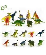 12pcs/lot Dinosaurs Model Cute Animals Gifts Boys Toys Hobbies Kids Mini... - $16.19